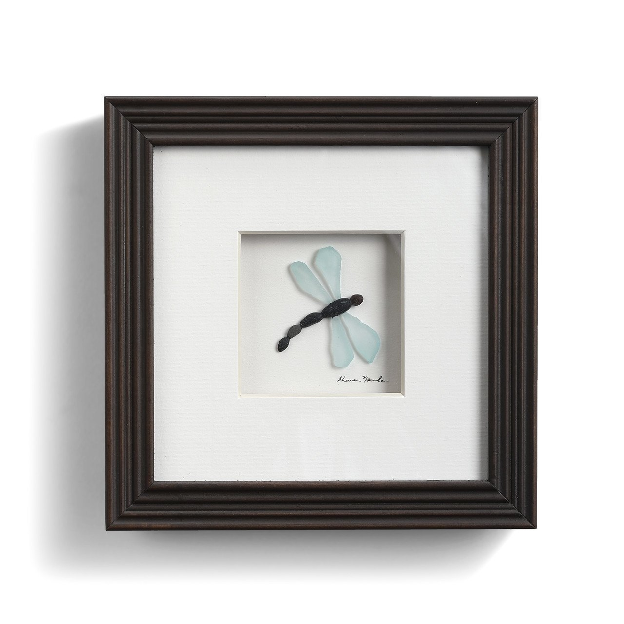 DRAGONFLY WALL A - 6 INCH WALL ART - 1004370076 - Molly's! A Chic and Unique Boutique