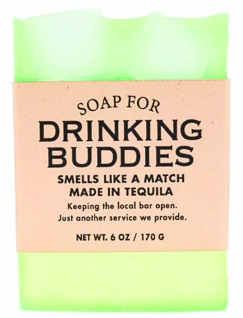DRINKING BUDDIES SOAP - Molly's! A Chic and Unique Boutique