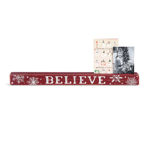 BELIEVE PHOTO HOLDER - Molly's! A Chic and Unique Boutique