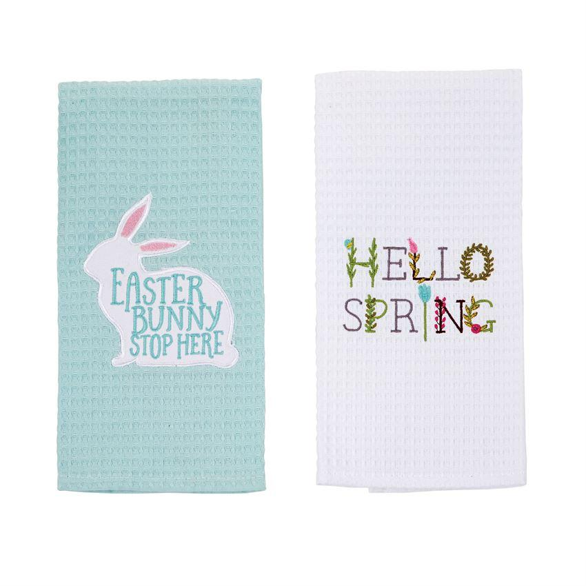 Easter Waffle Weave Towel - Molly's! A Chic and Unique Boutique
