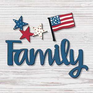 """FAMILY"" W/ PATRIOTIC - Molly's! A Chic and Unique Boutique"