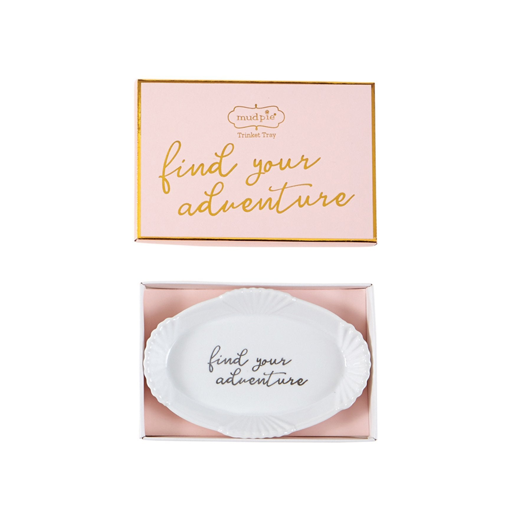 """Find your adventure"" Trinket Dish - Molly's! A Chic and Unique Boutique"