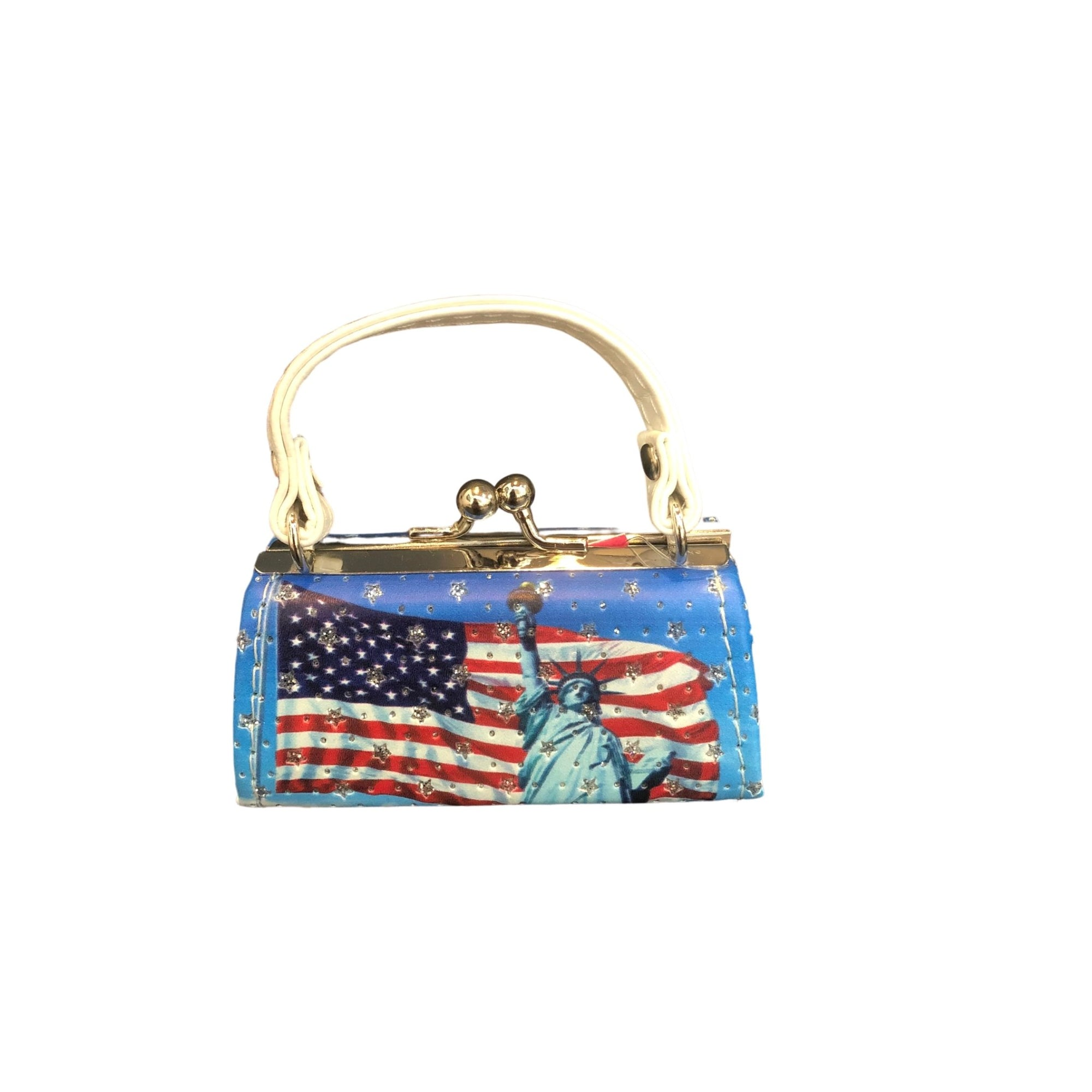 FLAG COIN PURSE - Molly's! A Chic and Unique Boutique