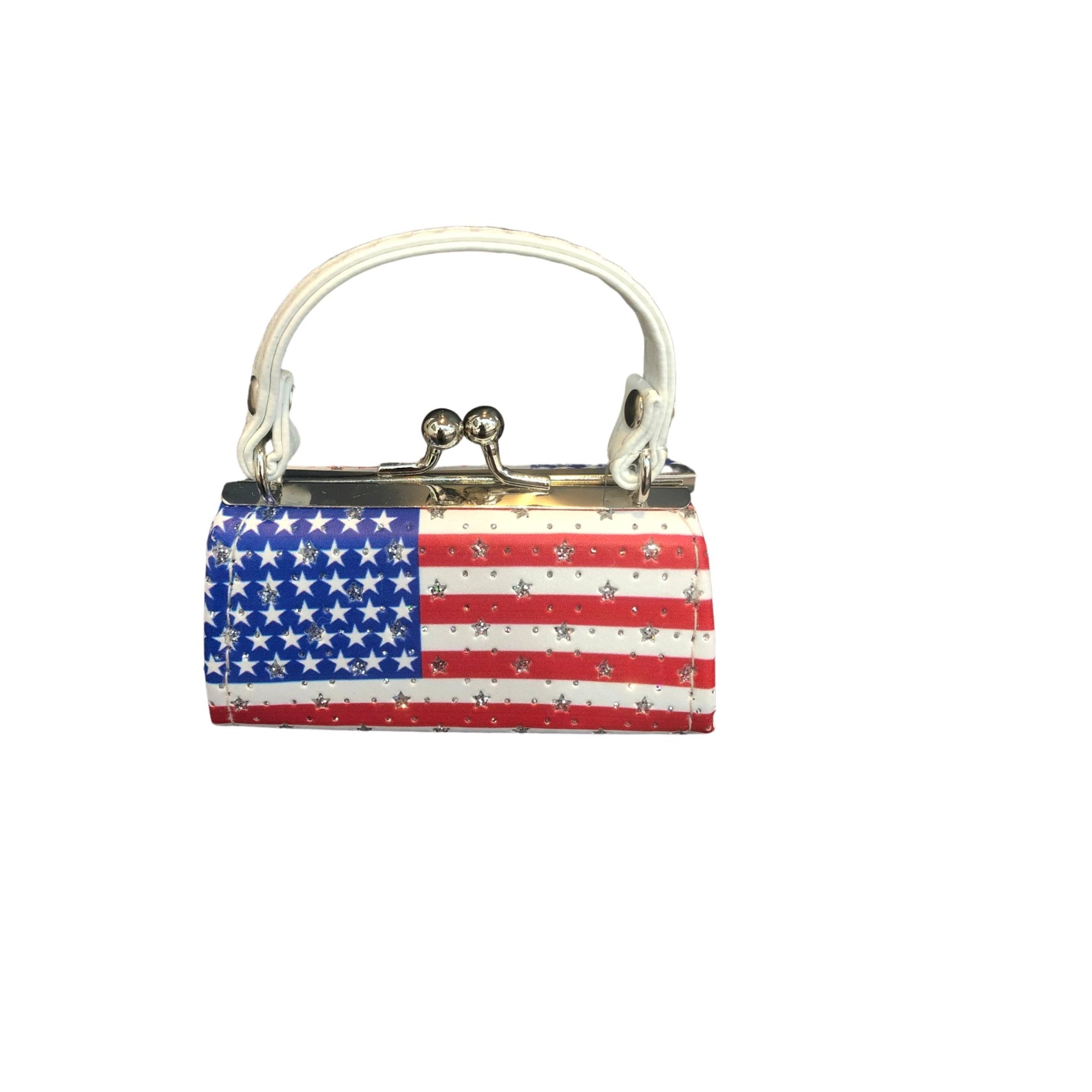FLAG COIN/LIPSTICK MINI PURSE - Molly's! A Chic and Unique Boutique