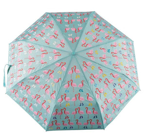 FLAMINGO BIG KIDS COLOR CHANGING UMBRELLA - Molly's! A Chic and Unique Boutique