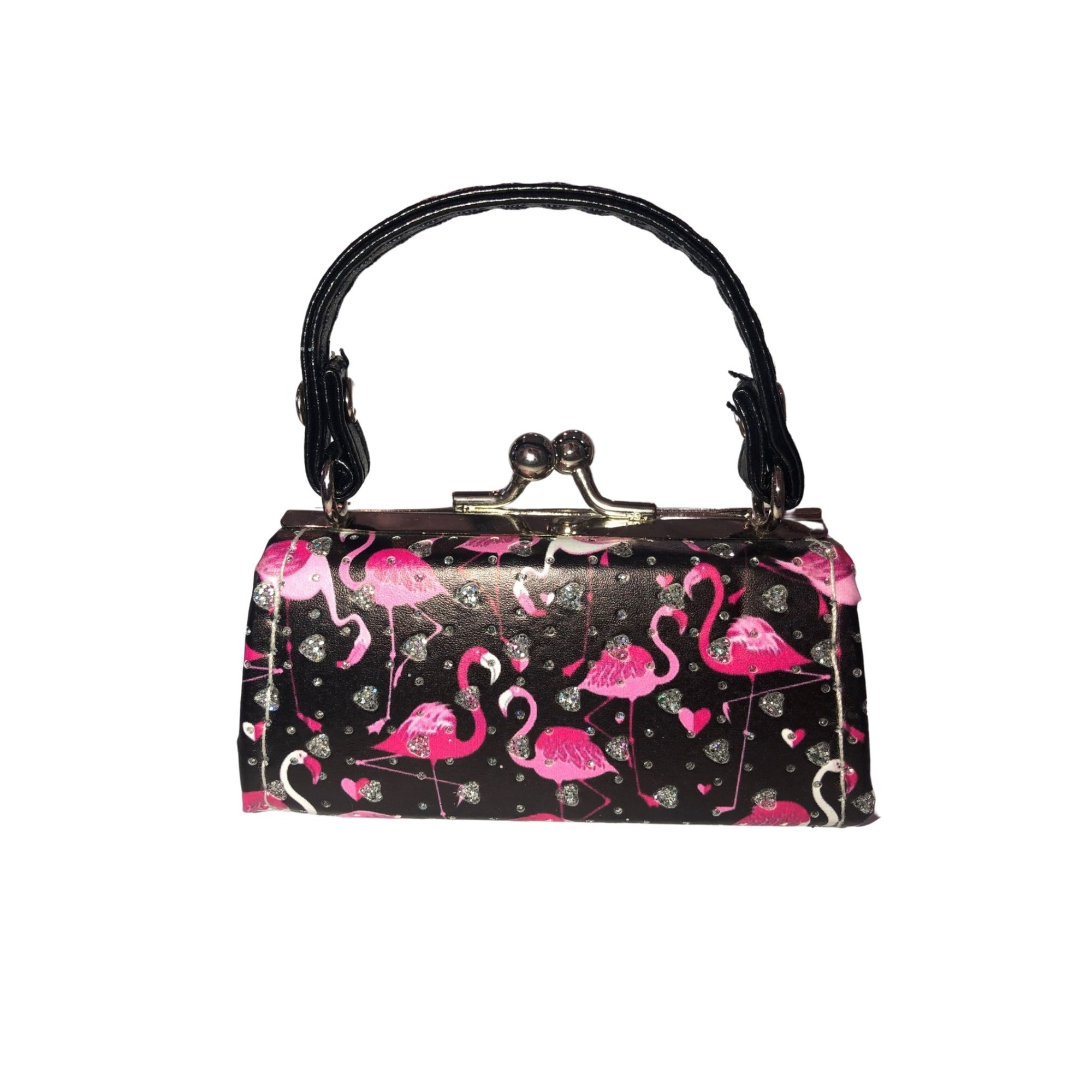 FLAMINGO COIN/LIPSTICK MINI PURSE (MULTIPLE COLORS AVAILABLE) - Molly's! A Chic and Unique Boutique