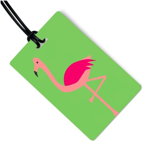 FLAMINGO LUGGAGE TAG - Molly's! A Chic and Unique Boutique