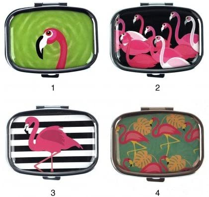 FLAMINGO MIRROR  PILL BOX - Molly's! A Chic and Unique Boutique