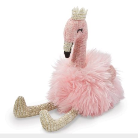 Plush Flamingo Rattle - Molly's! A Chic and Unique Boutique