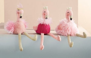 FLAMINGO RATTLE - PLUSH - Molly's! A Chic and Unique Boutique