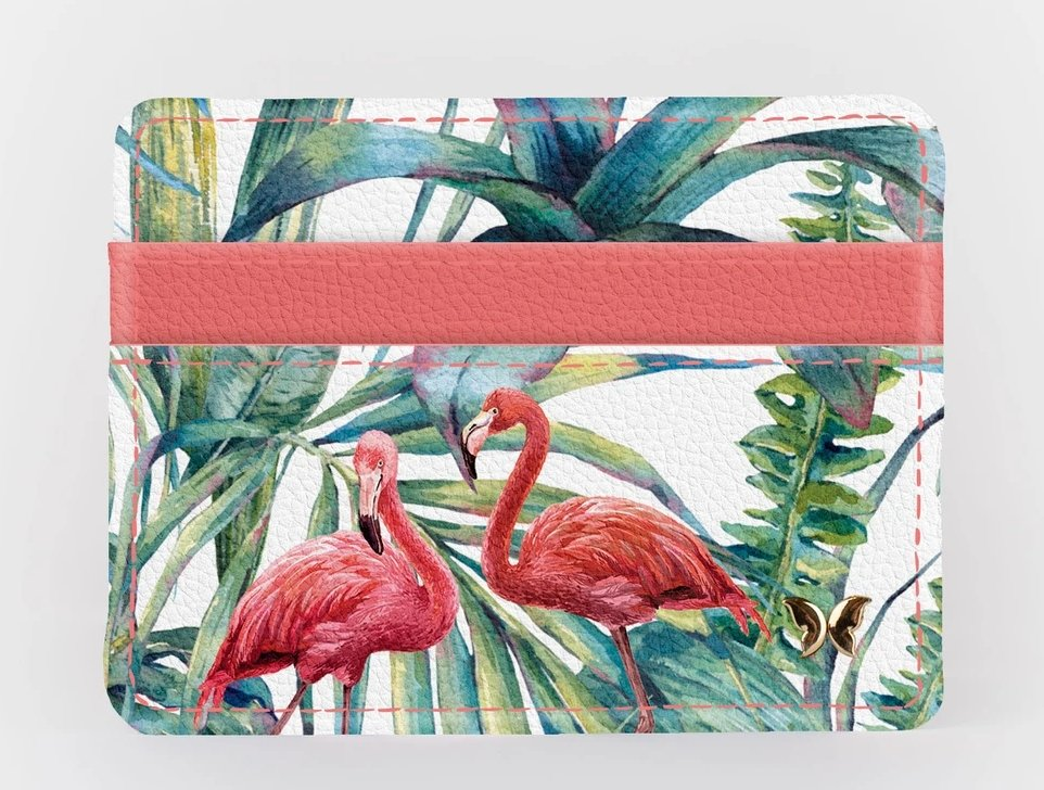 FLAMINGO-SLIM WALLET - Molly's! A Chic and Unique Boutique