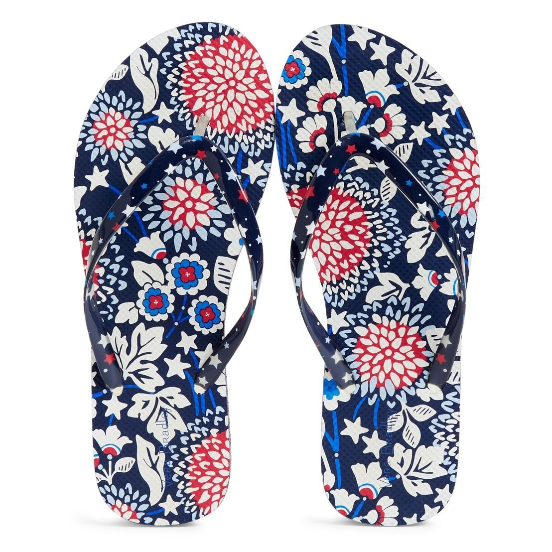 FLIP FLOPS: Red, White and Blossoms - Molly's! A Chic and Unique Boutique