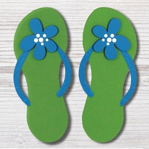 FLIP FLOPS W/ DAISY - Molly's! A Chic and Unique Boutique