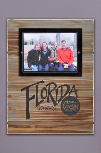 FLORIDA GATORS WOOD FRAME - Molly's! A Chic and Unique Boutique