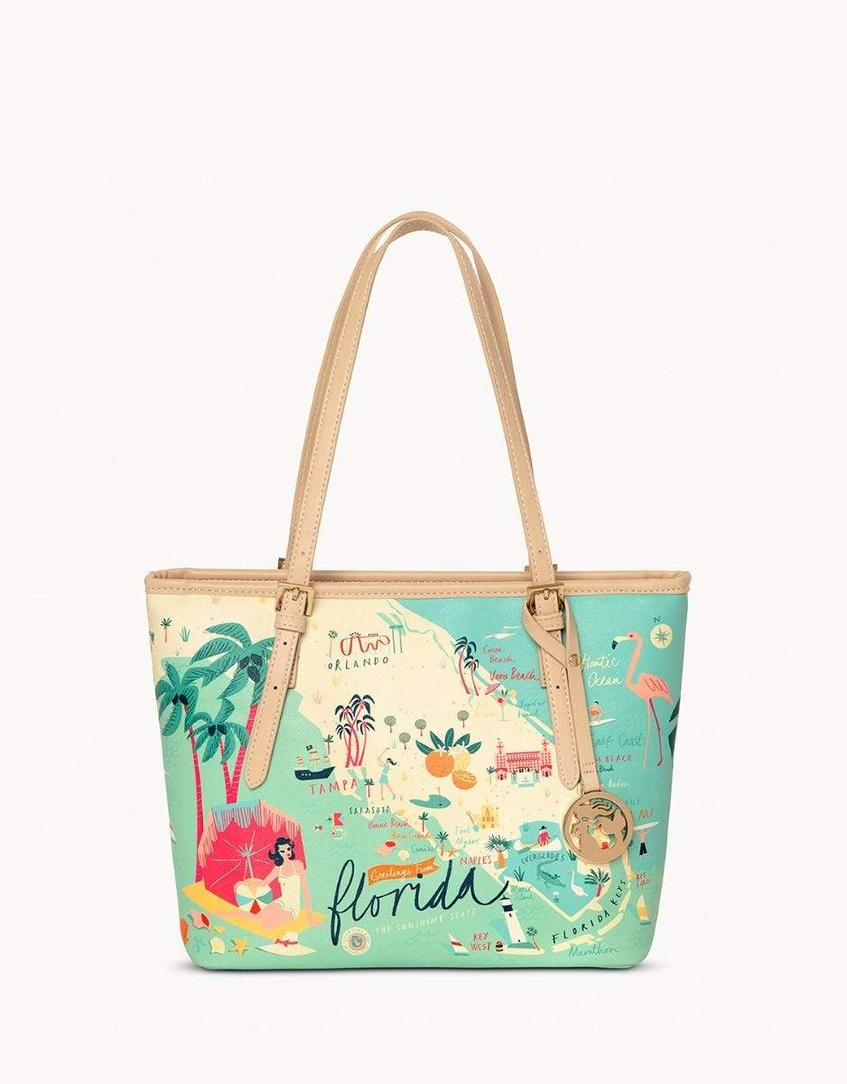 Florida Small Tote - Molly's! A Chic and Unique Boutique