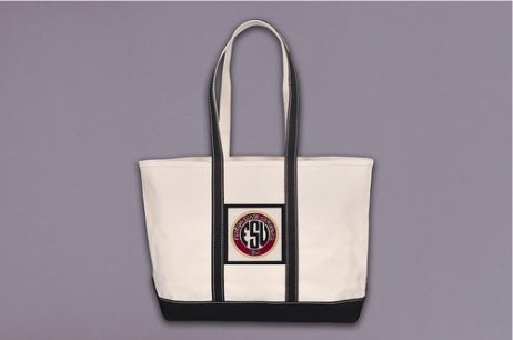 Florida State University Initial Tote - Molly's! A Chic and Unique Boutique