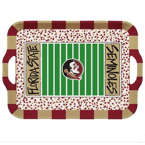FSU Melamine Serving Tray with Handles - Molly's! A Chic and Unique Boutique