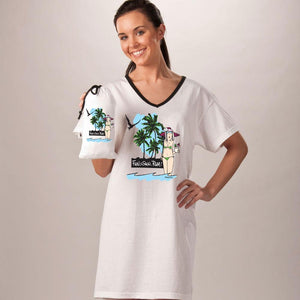 """Fun, Sun, Rum"" Nightshirt In a Bag - Molly's! A Chic and Unique Boutique"