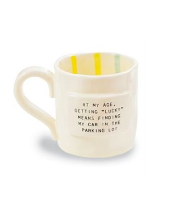 Funny Stripes Birthday Mug - Molly's! A Chic and Unique Boutique