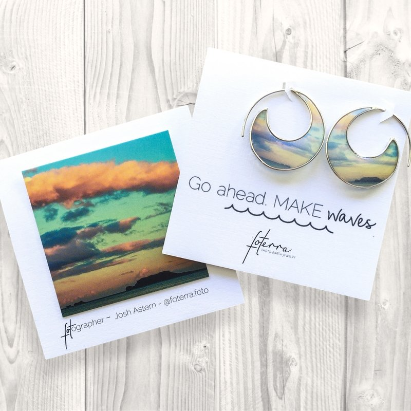 GO AHEAD. MAKE WAVES EARRINGS - Molly's! A Chic and Unique Boutique