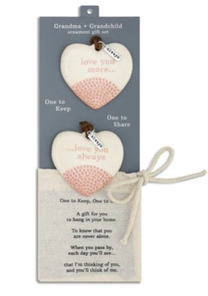 GRANDMA AND GRANDCHILD ORNAMENTS - 1004500099 - Molly's! A Chic and Unique Boutique