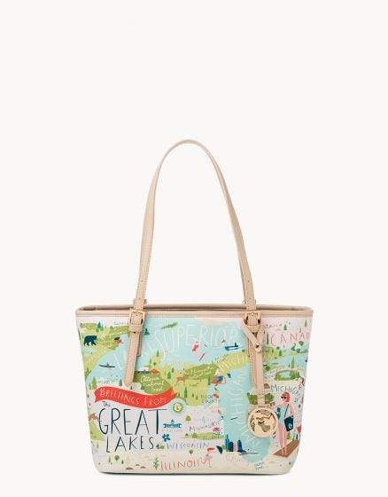 GREAT LAKES SMALL TOTE - Molly's! A Chic and Unique Boutique
