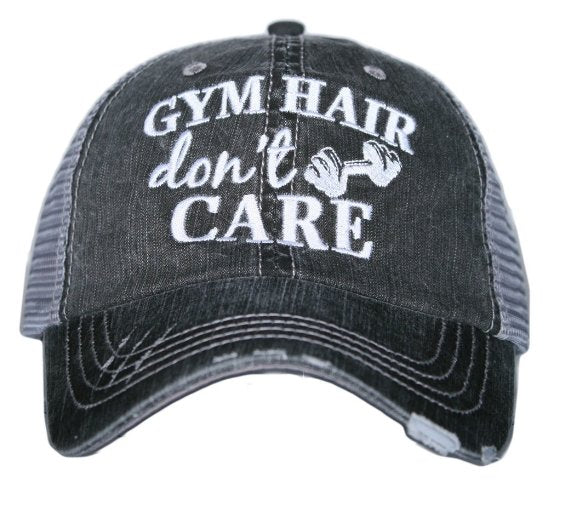 GYM HAIR DON'T CARE KDC-TC-177 - Molly's! A Chic and Unique Boutique