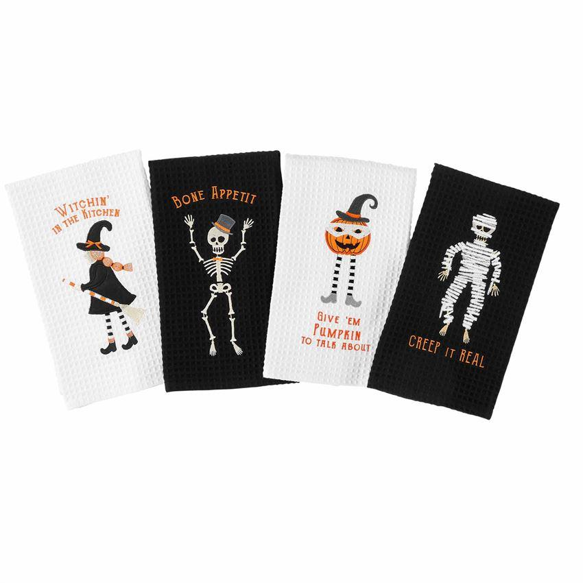 HALLOWEEN WAFFLE TOWELS - Molly's! A Chic and Unique Boutique