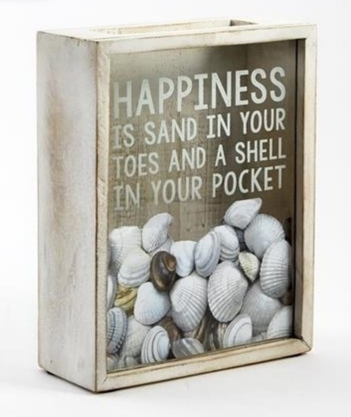 Happiness Shell Holder - Molly's! A Chic and Unique Boutique