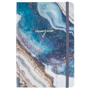 HARDBOUND JOURNAL MARBLE SWIRL (S20) - Molly's! A Chic and Unique Boutique
