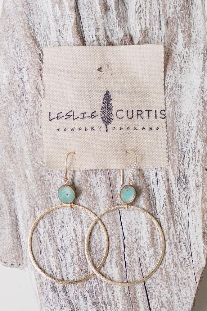 HARPER - GOLD HOOP EARRINGS - Molly's! A Chic and Unique Boutique