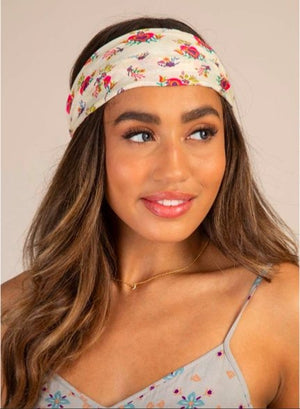 HEART FLOWERS HALF BOHO BANDEAU - Molly's! A Chic and Unique Boutique