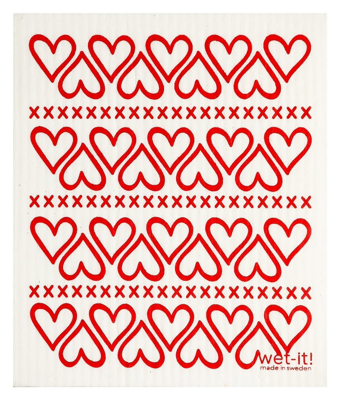 HEARTS:  Absorbent Cloth - Molly's! A Chic and Unique Boutique