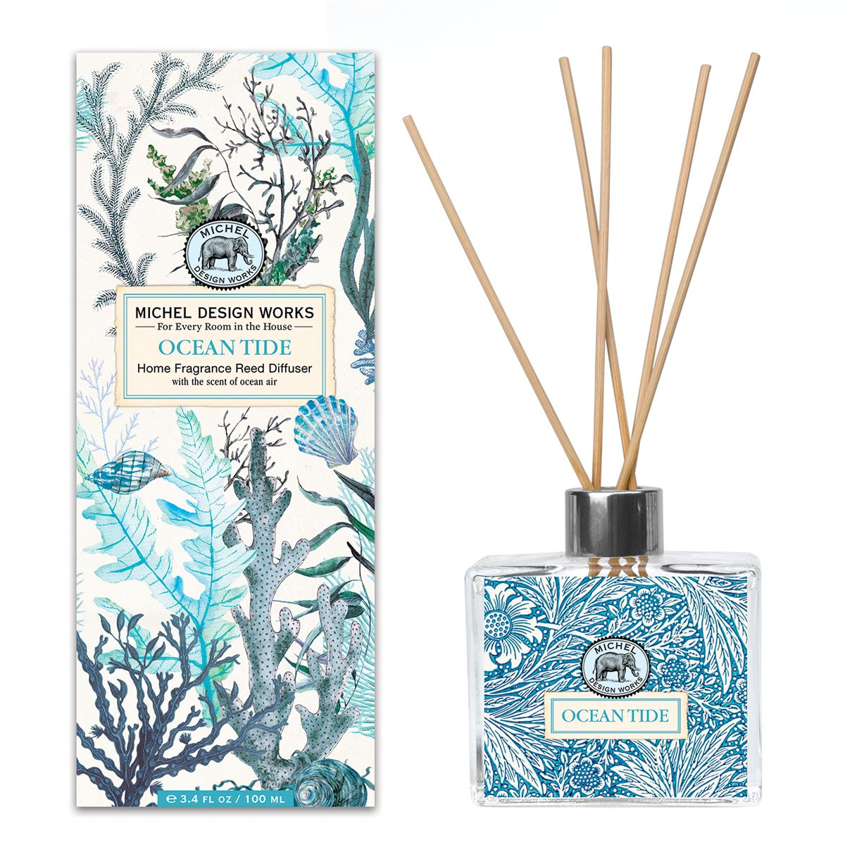 Ocean Tide Home Fragrance Reed Diffuser - Molly's! A Chic and Unique Boutique