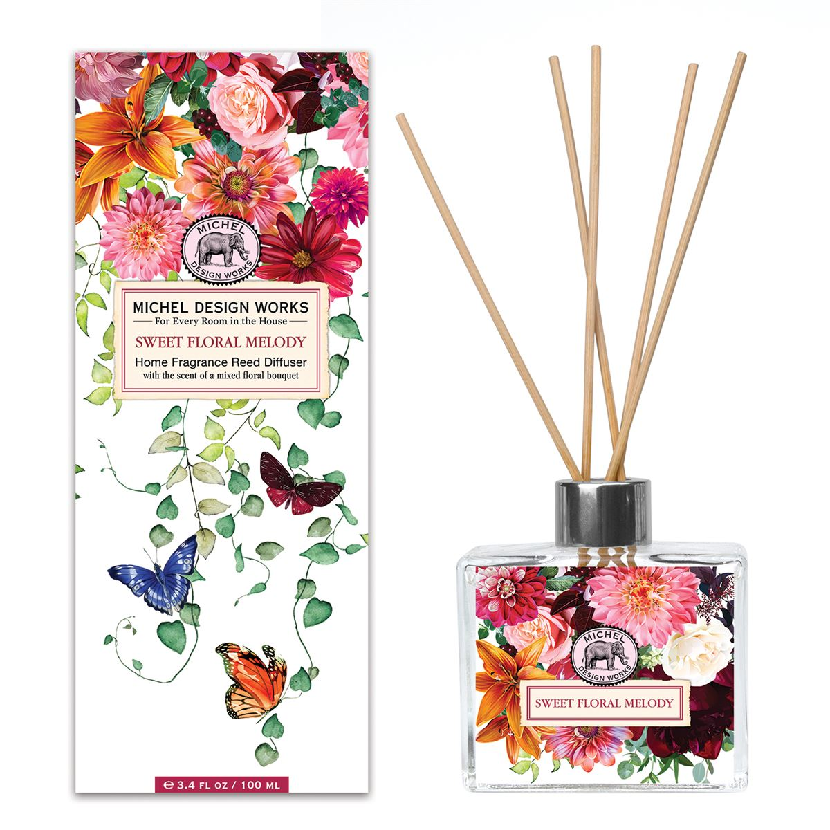 Sweet Floral Melody Home Fragrance Reed Diffuser - Molly's! A Chic and Unique Boutique