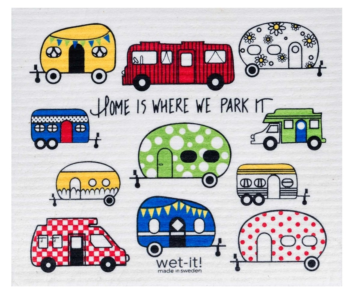 HOME IS WHERE WE PARK IT: Absorbent Cloth - Molly's! A Chic and Unique Boutique