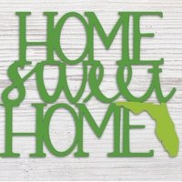"""HOME SWEET HOME"" FL GREEN - Molly's! A Chic and Unique Boutique"