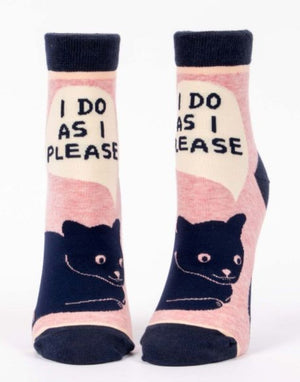 I DO AS I PLEASE SOCKS - Molly's! A Chic and Unique Boutique