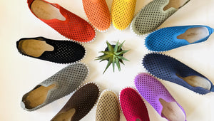 TULIP SLIP ON SHOE:  Many Colors Available!