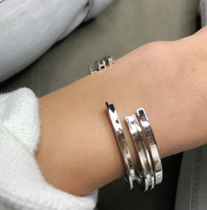 INITIAL SILVER Bracelets - Molly's! A Chic and Unique Boutique