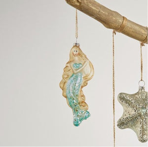 IRIDESCENT MERMAID ORNAMENT - Molly's! A Chic and Unique Boutique