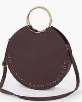 Large Circle Tote Ox Blood - Molly's! A Chic and Unique Boutique