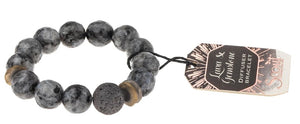 LAVA & GEMSTONE BRACELET - Molly's! A Chic and Unique Boutique