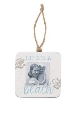 LIFES A BEACH SHELL FRAME - Molly's! A Chic and Unique Boutique