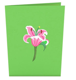 LILY BLOOM POP UP CARD - Molly's! A Chic and Unique Boutique