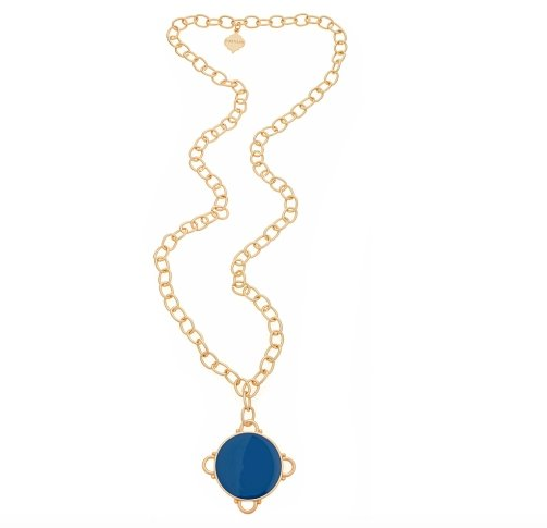LONG MADELINE GOLD NECKLACE - Molly's! A Chic and Unique Boutique