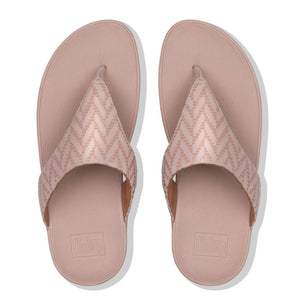 LOTTIE CHEVRON TOE POST OYSTER PINK R18-673 - Molly's! A Chic and Unique Boutique