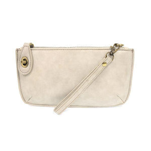 LUSTRE LUX CROSSBODY WRISTLET CLUTCH- ALABASTER - Molly's! A Chic and Unique Boutique