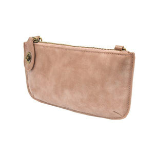LUSTRE LUX CROSSBODY WRISTLET CLUTCH- BLUSH - Molly's! A Chic and Unique Boutique