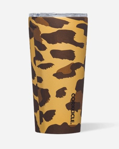 Luxe Leopard Tumbler- 16oz - Molly's! A Chic and Unique Boutique